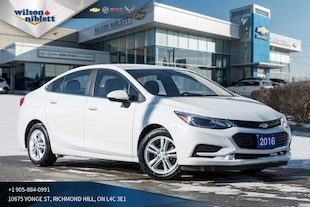 2016 Chevrolet Cruze LT | BACK-UP CAMERA | HEATED SEATS | Sedan
