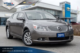 2011 Buick Lacrosse CXL | PANO SUNROOF | HEADS-UP DISPAY | Sedan