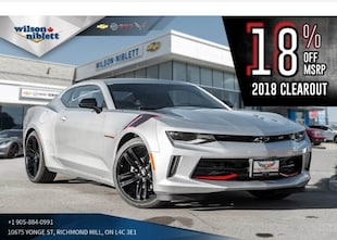 2018 Chevrolet Camaro 1 LT RS REDLINE ED | SUNROOF | BLACK OUT DECAL | Coupe
