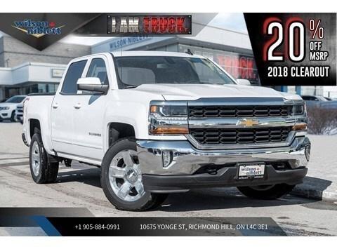 2018 Chevrolet Silverado 1500 1LT | TRUE NORTH ED | TRI-FOLD TONNEAU | CHROME Truck