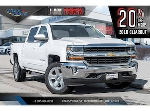 2018 Chevrolet Silverado 1500 1LT | TRUE NORTH ED | TRI-FOLD TONNEAU | CHROME Truck
