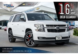2018 Chevrolet Tahoe 1LZ RST EDITION | VENTED SEATS | MAX TRAILERING SUV