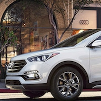 2017 Hyundai Santa Fe Sport available near Jackson