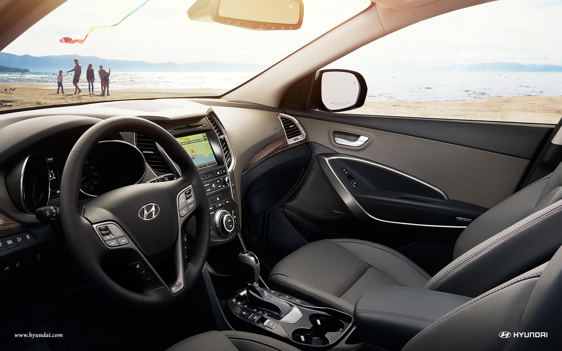 2017 hyundai santa fe sport near jackson ms hyundai dealer - Hyundai santa fe sport interior photos ...