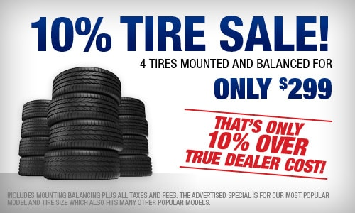 Tire specials near Jackson MS