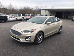 New 2019 Ford Fusion Hybrid Titanium Sedan in Whitehall, WV