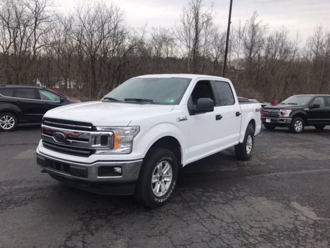 Used 2018 Ford F-150 XLT Crew Cab Short Bed Truck for sale in Whitehall WV