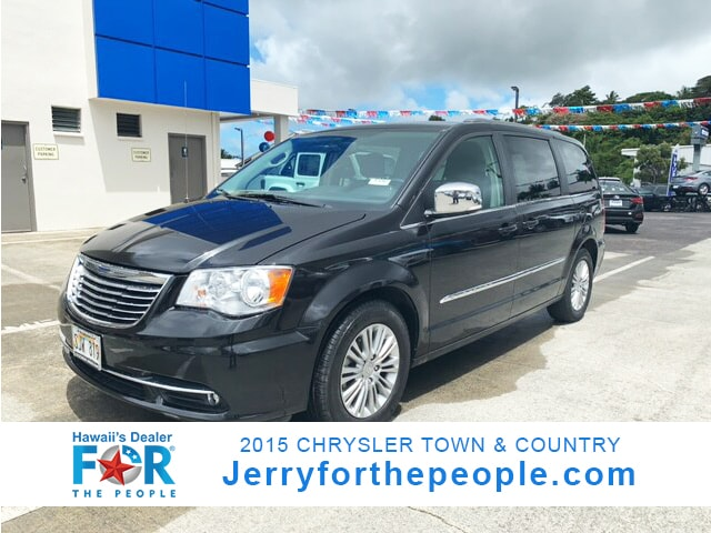 2015 Chrysler Town & Country Touring-L Mini-van Passenger