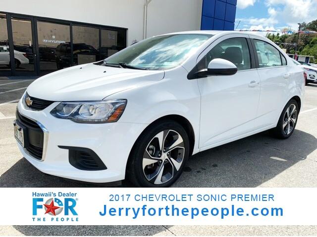 2017 Chevrolet Sonic Premier Car