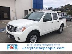 2018 Nissan Frontier SV V6 Crew Cab Pickup