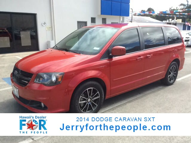 2014 Dodge Grand Caravan SXT Mini-van Passenger