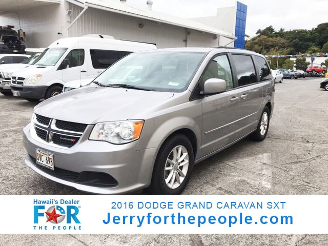 2016 Dodge Grand Caravan SXT Mini-van Passenger