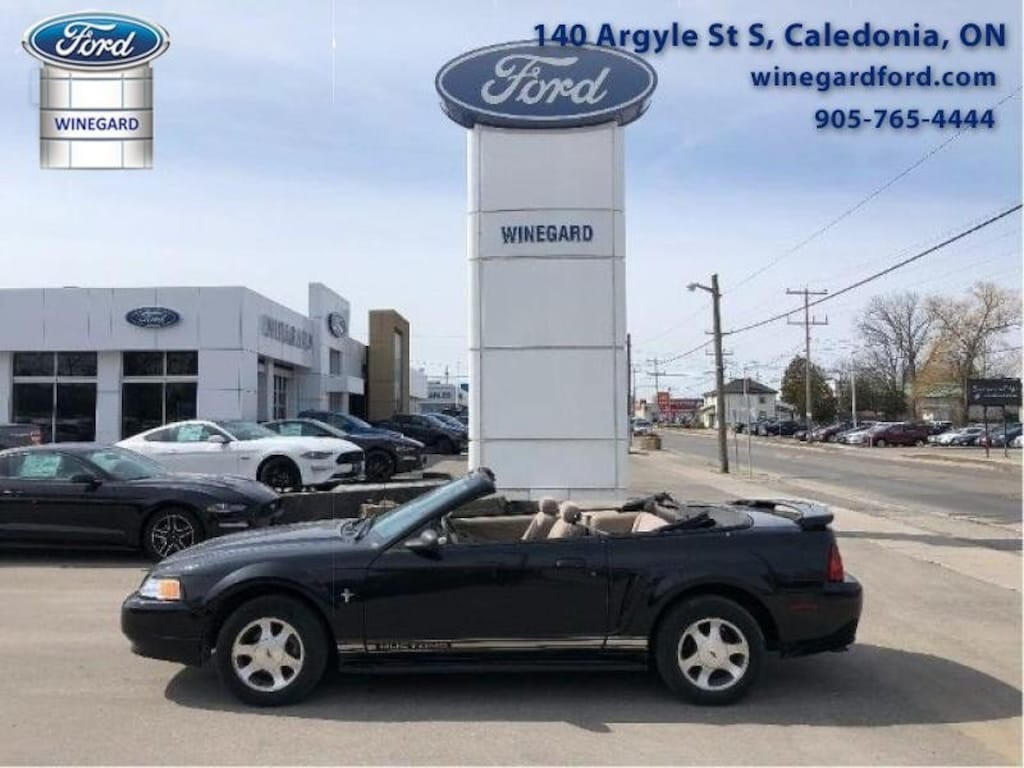 Used 2000 ford mustang for sale at winegard motors vin
