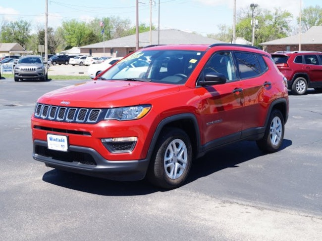 2017 Jeep New Compass Sport FWD SUV