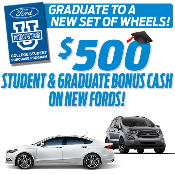 College Student Purchase Program Winner Ford Cherry Hill