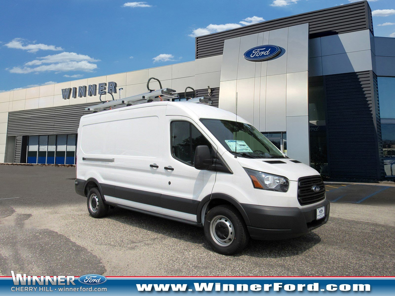 2018 Ford Transit-250 Base w/Sliding Pass-Side Cargo Door Truck