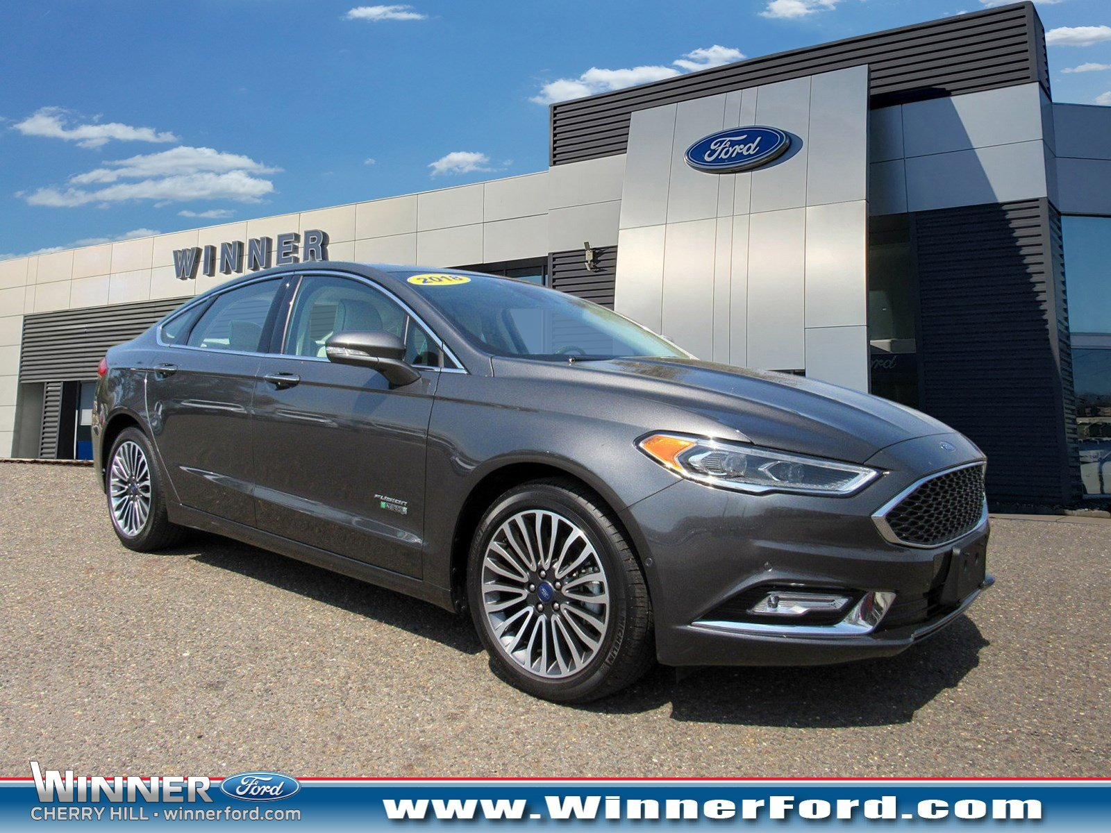 2018 Ford Fusion Energi Platinum Sedan