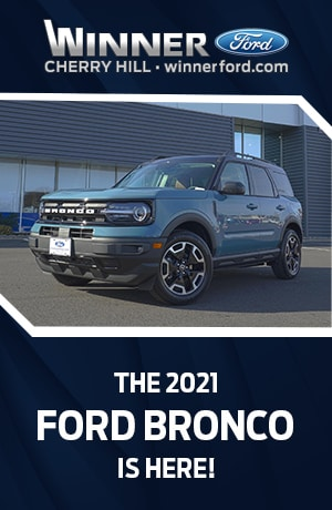 2021 Ford Bronco Available