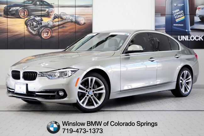 Certified 2016 BMW 3 Series 340i xDrive Sedan Colorado Springs