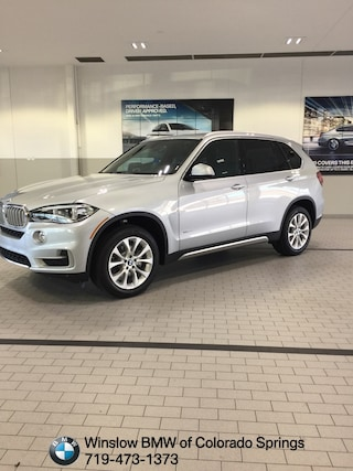 New 2018 BMW X5 Xdrive35i SUV for sale in Colorado Springs
