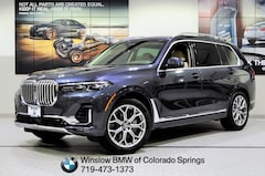 New 2019 BMW X7 Xdrive40i SUV for sale in Colorado Springs
