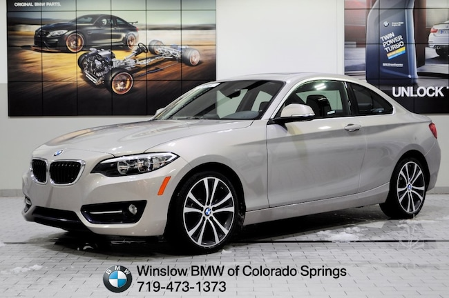 New 2016 BMW 2 Series 228i Xdrive Coupe Colorado Springs