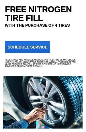 Free Nitrogen Tire Fill