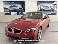 Certified 2017 BMW 3 Series 330i xDrive Sedan for sale in Colorado Springs