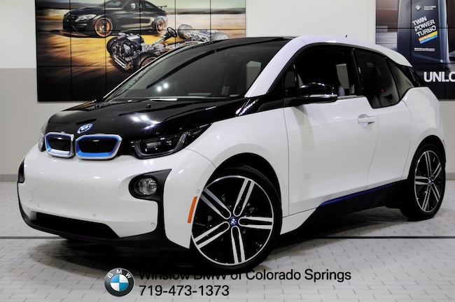 Certified 2015 BMW i3 With Range Extender Hatchback Colorado Springs
