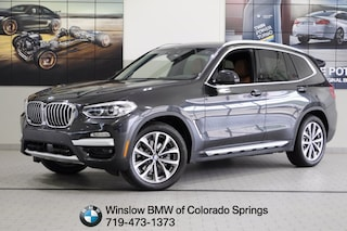New 2019 BMW X3 xDrive30i SUV for sale in Colorado Springs