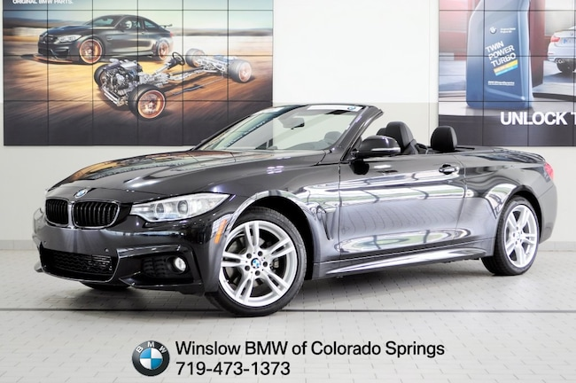 Certified 2016 BMW 4 Series 428i Xdrive Convertible Colorado Springs