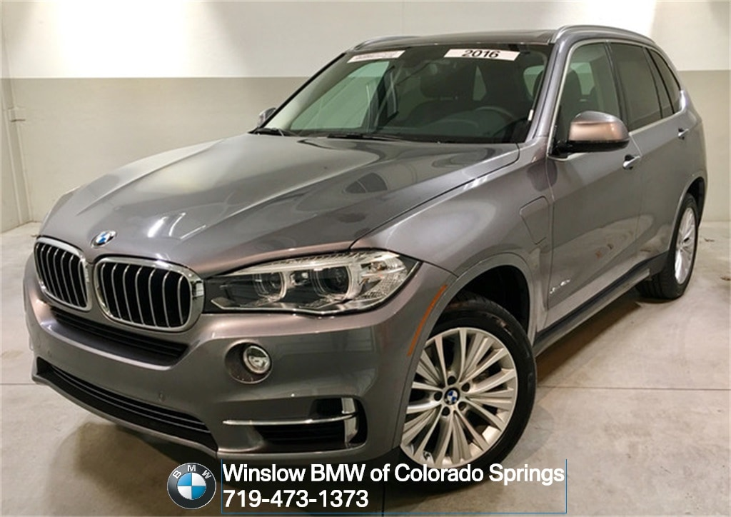 Used 2016 BMW X5 Xdrive40e SUV in Colorado Springs