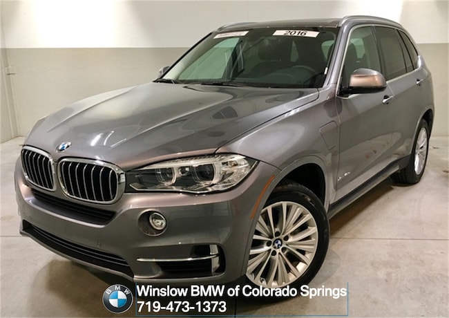 Certified 2016 BMW X5 xDrive40e SUV Colorado Springs