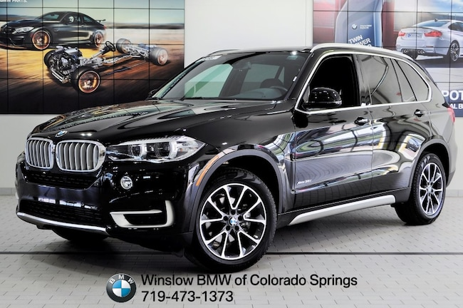 New 2018 BMW X5 Xdrive35i SUV Colorado Springs