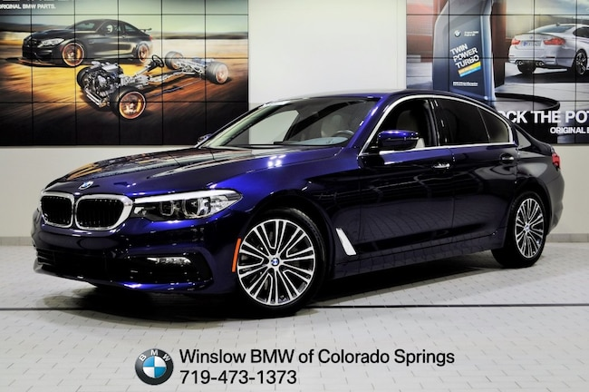 New 2017 BMW 5 Series 530i Xdrive Sedan Colorado Springs