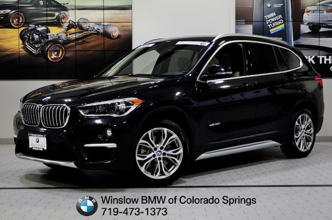 Certified 2016 BMW X1 Xdrive28i SUV Colorado Springs
