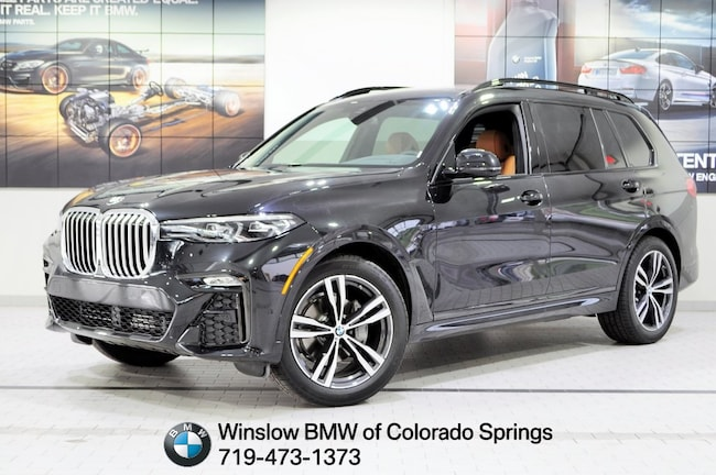 New 2019 BMW X7 Xdrive40i SUV Colorado Springs