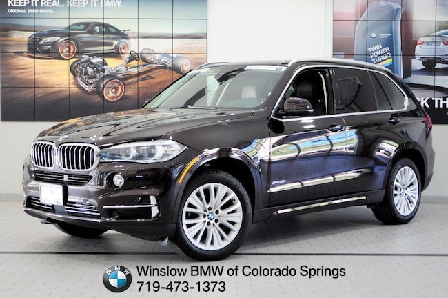 Certified 2016 BMW X5 Xdrive35i SUV Colorado Springs