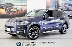 Certified Pre-Owned 2017 BMW X5 Xdrive35i SUV in Colorado Springs