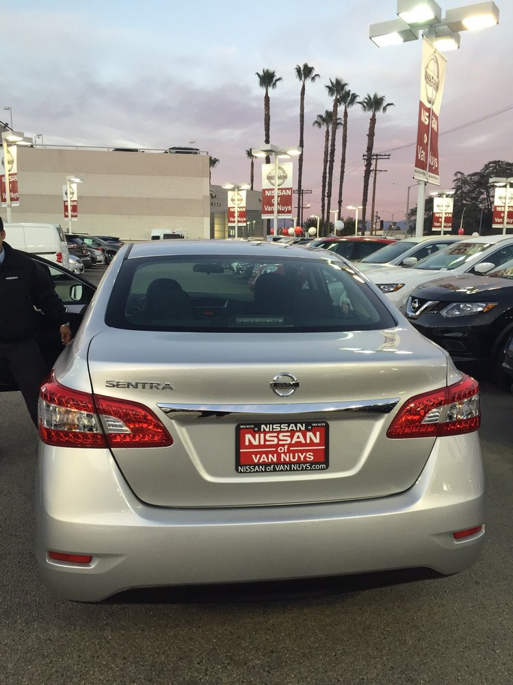 Thank You Nissan Of Van Nuys For Making A Usually Bad Experience Into A  Good One!