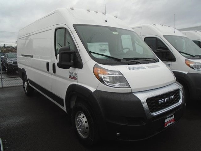 New 2019 Ram ProMaster 3500 CARGO VAN HIGH ROOF 159 WB EXT Extended Cargo Van for sale in Salem, OR