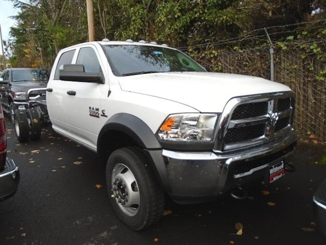 New 2018 Ram 5500 TRADESMAN CHASSIS CREW CAB 4X4 197.4 WB Crew Cab for sale in Salem, OR