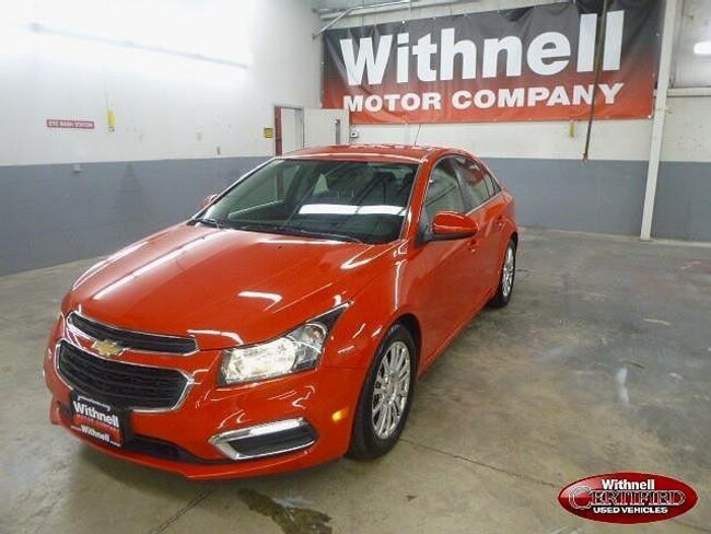 Used 2016 Chevrolet Cruze Limited ECO Manual Sedan for sale in Salem, OR