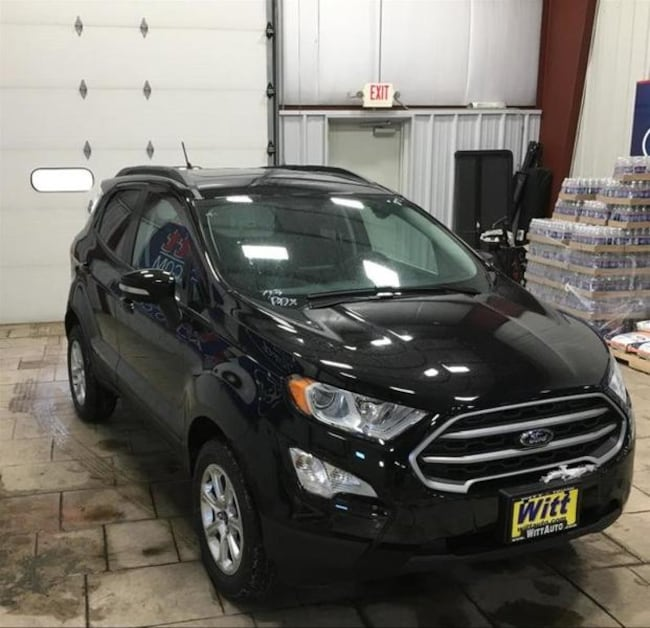 2018 Ford ECO Sport 4WD SE