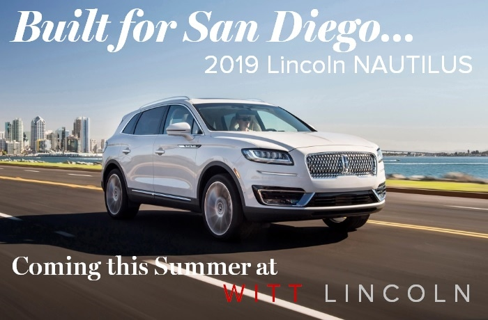 The Lincoln Motor Company Introduces The New 2019 Lincoln Nautilus