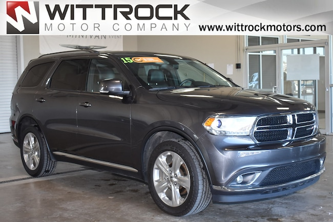 Certified Pre-Owned 2015 Dodge Durango Limited SUV for-sale-in-Carroll