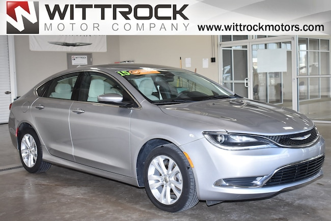 Certified Pre-Owned 2015 Chrysler 200 Limited Sedan for-sale-in-Carroll