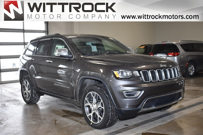 New 2019 Jeep Grand Cherokee LIMITED 4X4 Sport Utility in Carroll, IA
