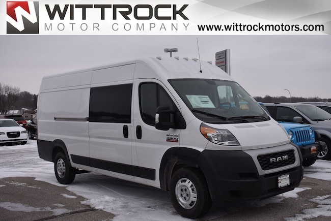 New 2019 Ram ProMaster 3500 CARGO VAN HIGH ROOF 159 WB EXT Extended Cargo Van in Carroll, IA