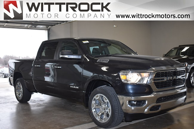 New 2019 Ram 1500 BIG HORN / LONE STAR CREW CAB 4X4 6'4 BOX Crew Cab in Carroll, IA